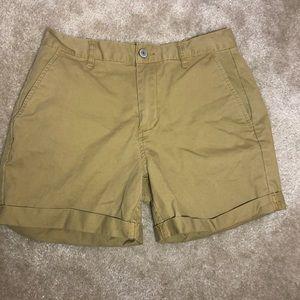 Brandy Melville khaki shorts Medium